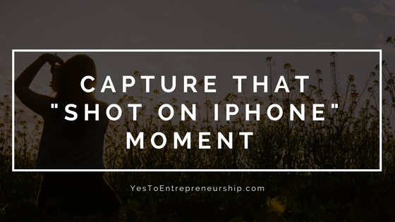 "Capture that ""Shot on iPhone"" moment"