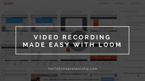 Easily record videos on your computer with Loom