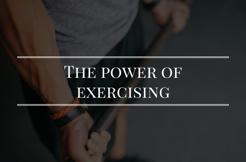 The power of working out and clearing your mind