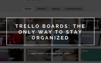 Trello boards that will get you organized