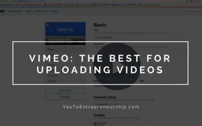 Why I use Vimeo