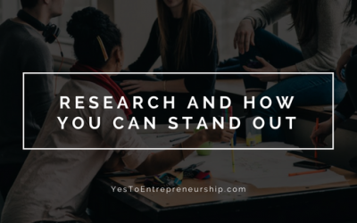Ways to research and stand out from others