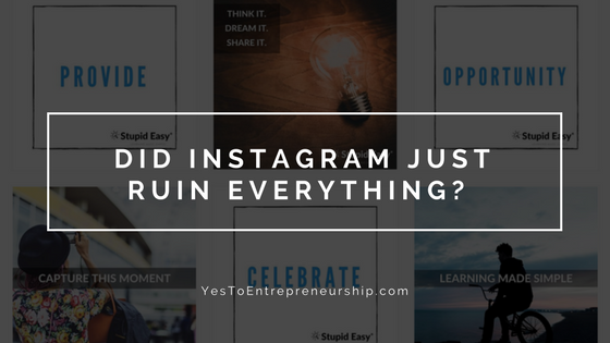 Instagram changes – will it be the death of you?