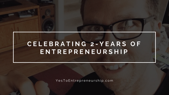 Celebrating 2-years of Entrepreneurship