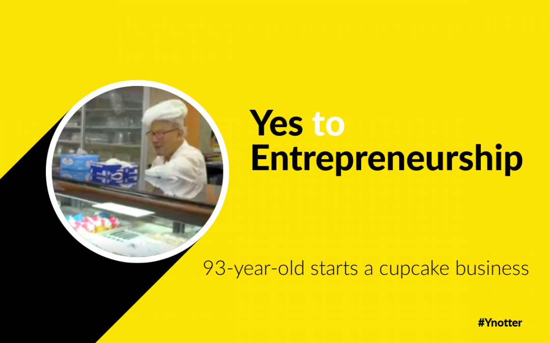 93-year-old starts a cupcake business